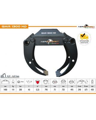 Pinza da tronchi GMR 1300 HD RINFORZATA da 45 a 60 q.li